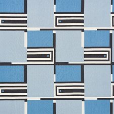 Blues Drapery and Upholstery Fabric by Schumacher