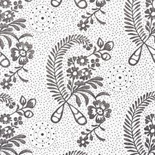 Blackwork Drapery and Upholstery Fabric by Schumacher