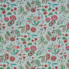 Mineral/Pink Drapery and Upholstery Fabric by Schumacher