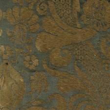 Gold/onyx Drapery and Upholstery Fabric by Highland Court