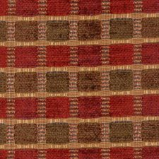 Ruby/olive Drapery and Upholstery Fabric by Highland Court