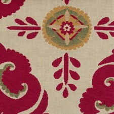 Fuschia Drapery and Upholstery Fabric by Highland Court