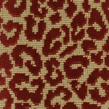 Tomato Drapery and Upholstery Fabric by Highland Court