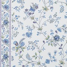 Peacock Floral Medium Drapery and Upholstery Fabric by Duralee