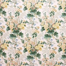 Citron Botanical Drapery and Upholstery Fabric by Lee Jofa