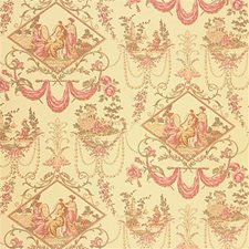 Rose An Toile Drapery and Upholstery Fabric by Lee Jofa