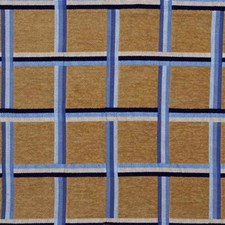 Sand/Sky Plaid Drapery and Upholstery Fabric by Lee Jofa