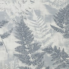 Azure Botanical Drapery and Upholstery Fabric by Lee Jofa