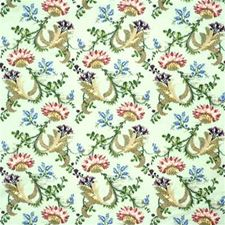 Aqua Print Drapery and Upholstery Fabric by Lee Jofa
