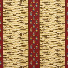 Red Paisley Drapery and Upholstery Fabric by Lee Jofa