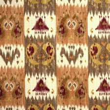 Peach Ikat Drapery and Upholstery Fabric by Lee Jofa
