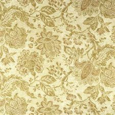 Ochre/Amber Print Drapery and Upholstery Fabric by Lee Jofa