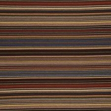 Cadet/Ruby Stripes Drapery and Upholstery Fabric by Lee Jofa