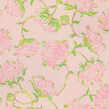 Scallop Pink Print Drapery and Upholstery Fabric by Lee Jofa