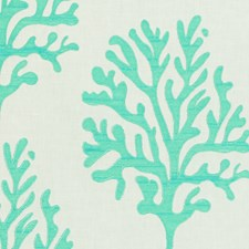 Seafoam Embroidery Drapery and Upholstery Fabric by Lee Jofa