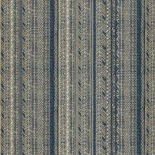 Indigo Ethnic Drapery and Upholstery Fabric by Lee Jofa