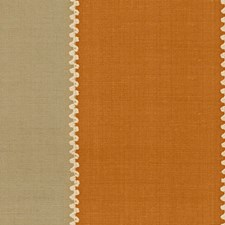 Orange Embroidery Drapery and Upholstery Fabric by Lee Jofa