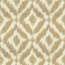 Ivory/Beige Diamond Drapery and Upholstery Fabric by Lee Jofa