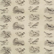 Charcoal Animal Drapery and Upholstery Fabric by Lee Jofa
