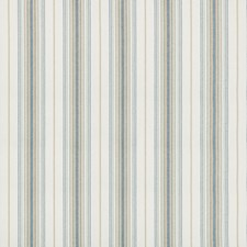 Aqua Stripes Drapery and Upholstery Fabric by Lee Jofa