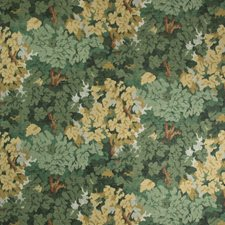 Ivy Botanical Drapery and Upholstery Fabric by Lee Jofa