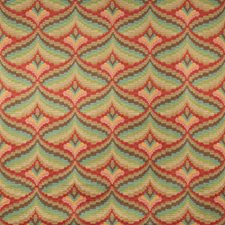Berry Geometric Drapery and Upholstery Fabric by Lee Jofa