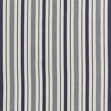Denim Stripes Drapery and Upholstery Fabric by Lee Jofa