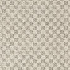 Silver Smoke Check Drapery and Upholstery Fabric by Lee Jofa