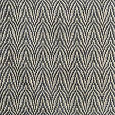 Slate Herringbone Drapery and Upholstery Fabric by Lee Jofa