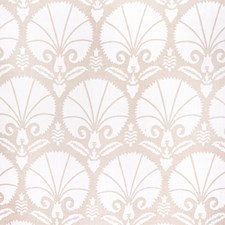 Beige Botanical Drapery and Upholstery Fabric by Lee Jofa