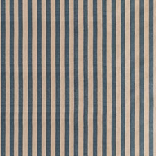 Teal Stripes Drapery and Upholstery Fabric by Lee Jofa