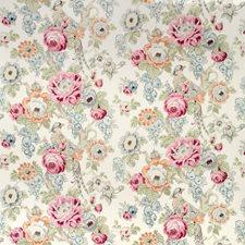 Berry/Slate Botanical Drapery and Upholstery Fabric by Lee Jofa