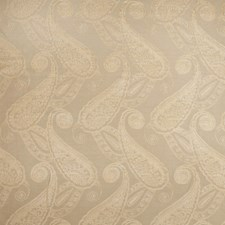 Camel Paisley Drapery and Upholstery Fabric by Fabricut