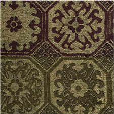 Purple/Green Ethnic Drapery and Upholstery Fabric by Kravet