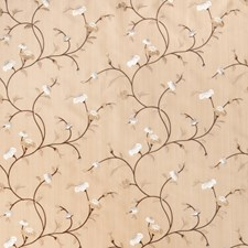 Camel Embroidery Drapery and Upholstery Fabric by Fabricut