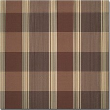Mink Plaid Drapery and Upholstery Fabric by Kravet