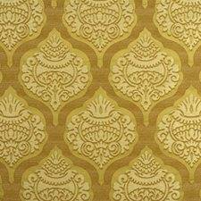 Gilt Damask Drapery and Upholstery Fabric by Lee Jofa