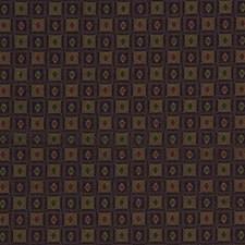 Purple/Beige/Burgundy Geometric Drapery and Upholstery Fabric by Kravet
