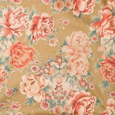 Spice Market Floral Drapery and Upholstery Fabric by Fabricut