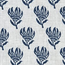 Cobalt Drapery and Upholstery Fabric by Robert Allen/Duralee