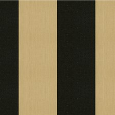 Charcoal/Black/Beige Stripes Drapery and Upholstery Fabric by Kravet