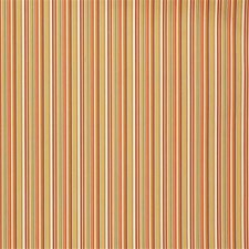 Coral/M Stripes Drapery and Upholstery Fabric by Groundworks