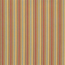 Crimson Stripes Drapery and Upholstery Fabric by Groundworks