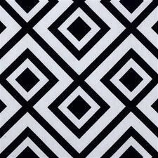 Domino Geometric Drapery and Upholstery Fabric by Groundworks