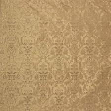 Mushroom Botanical Drapery and Upholstery Fabric by Kravet