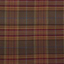 Brown/Burgundy/Red Plaid Drapery and Upholstery Fabric by Kravet