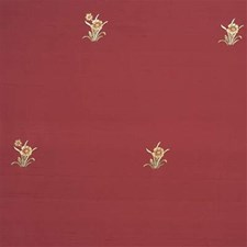 Burgundy/Red/Light Green Solid W Drapery and Upholstery Fabric by Kravet