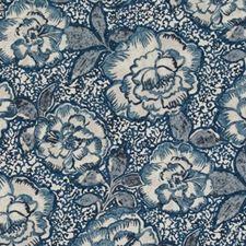 Indigo Drapery and Upholstery Fabric by Robert Allen/Duralee