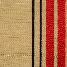 Beige/Red/Black Drapery and Upholstery Fabric by Scalamandre
