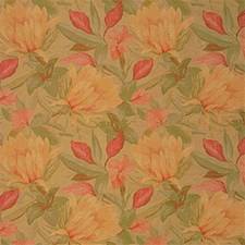 Yellow/Green Tropical Drapery and Upholstery Fabric by Kravet